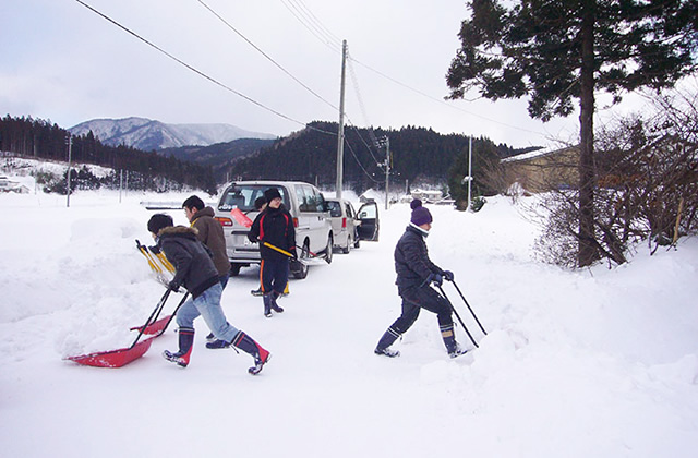 雪国生活体験